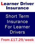 Car insurance for Learner driver