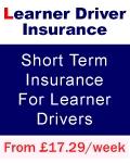 Car insurance for Learner driver